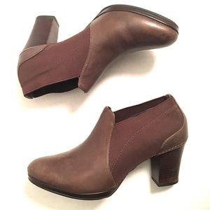Rockport Brown Leather Heels